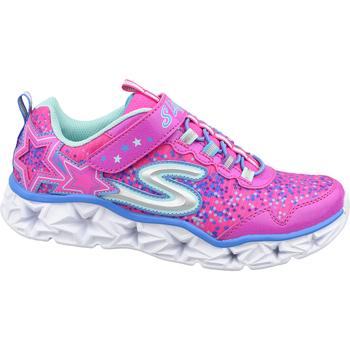 Boty Děti Módní tenisky Skechers Galaxy Lights rose