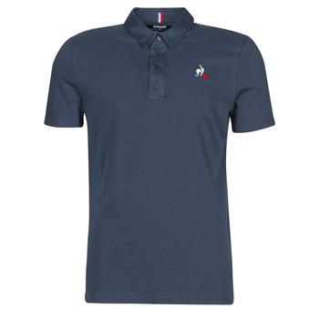 Textil Muži Polo s krátkými rukávy Le Coq Sportif ESS POLO SS N°2 M Modrá