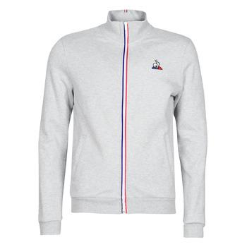 Textil Muži Teplákové bundy Le Coq Sportif ESS FZ Sweat N°2 M Šedá / Sepraný