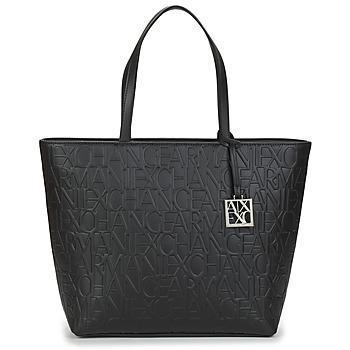 Taška Ženy Velké kabelky / Nákupní tašky Armani Exchange MANO Černá