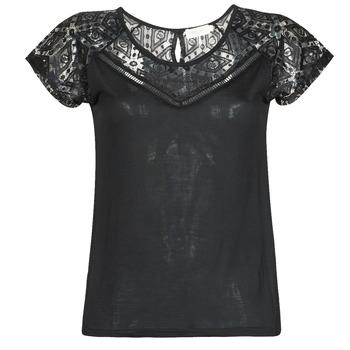 Textil Ženy Trička s krátkým rukávem Deeluxe CLEA Černá