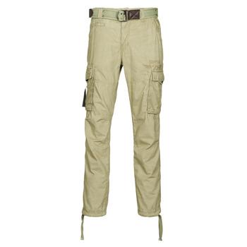 Textil Muži Cargo trousers  Deeluxe TROPERY Khaki