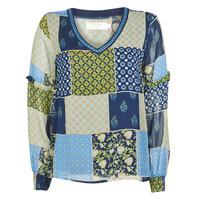 Textil Ženy Halenky / Blůzy Cream CLODIE Modrá