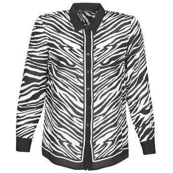 Textil Ženy Košile / Halenky Ikks BQ12105-03 Černá / Bílá