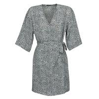 Textil Ženy Krátké šaty Ikks BQ30415-03 Černá / Bílá