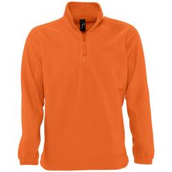 Textil Fleecové bundy Sols NESS POLAR UNISEX Naranja
