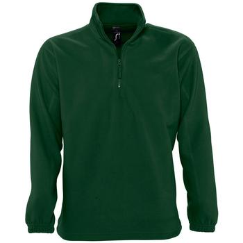 Textil Fleecové bundy Sols NESS POLAR UNISEX Verde