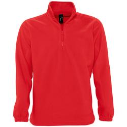 Textil Fleecové bundy Sols NESS POLAR UNISEX Rojo