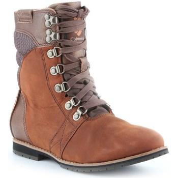 Columbia Kotníkové boty Twentythird Ave WP Mid - Hnědá