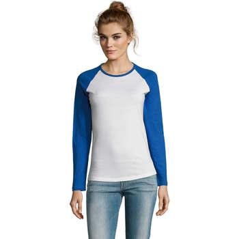 Textil Ženy Trička s dlouhými rukávy Sols MILKY LSL SPORT Multicolor