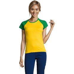 Textil Ženy Trička s krátkým rukávem Sols MILKY BICOLOR SPORT Multicolor