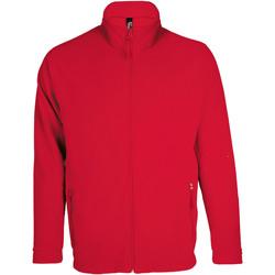 Textil Muži Fleecové bundy Sols NOVA MEN SPORT Rojo