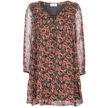 Textil Ženy Krátké šaty Betty London LETICIA Černá / Červená