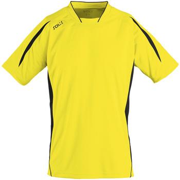 Textil Muži Trička s krátkým rukávem Sols MARACANA 2 SSL SPORT Amarillo