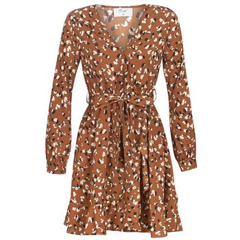 Textil Ženy Krátké šaty Betty London LISONS Hnědá
