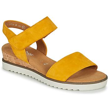 Boty Ženy Sandály Gabor KARIBITOU Žlutá
