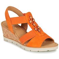 Boty Ženy Sandály Gabor KALINA Oranžová