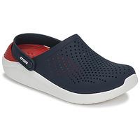 Boty Pantofle Crocs LITERIDE CLOG Tmavě modrá / Červená