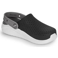 Boty Děti Pantofle Crocs LITERIDE CLOG K Černá / Bílá