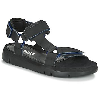 Boty Muži Sandály Camper ORUGA Černá