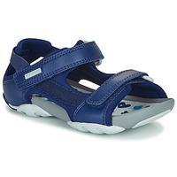 Boty Děti Sandály Camper OUS Modrá / Tmavě modrá