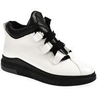 Boty Ženy Kotníkové boty Wde Dámske biele poltopánky OMIN biela