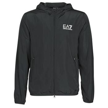 Textil Muži Větrovky Emporio Armani EA7 TRAIN CORE ID M JACKET Černá