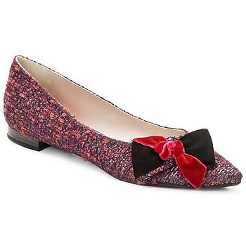Boty Ženy Baleríny  Magrit Rosy Knot Vícebarevná / Růžová