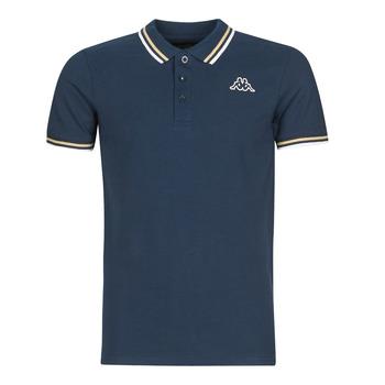 Textil Muži Polo s krátkými rukávy Kappa ESMO Modrá