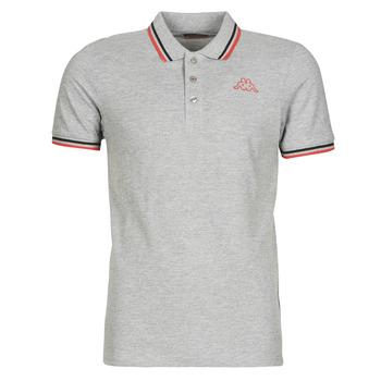 Textil Muži Polo s krátkými rukávy Kappa ESMO Šedá / Černá / Červená