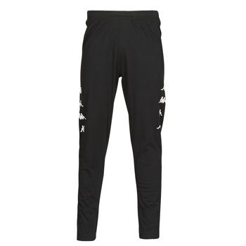 Textil Muži Teplákové kalhoty Kappa KOLRIK Černá / Bílá