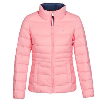 Textil Ženy Prošívané bundy Tommy Jeans MODERN DOWN JKT Růžová