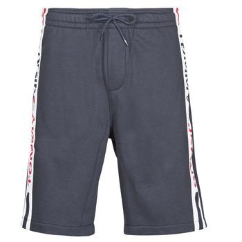 Textil Muži Kraťasy / Bermudy Tommy Jeans TJM BRANDED TAPE SHORT Tmavě modrá
