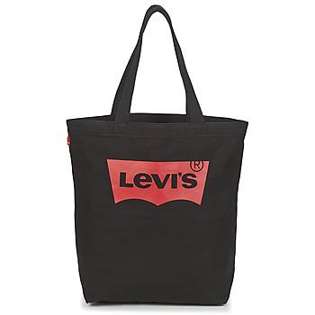 Taška Ženy Velké kabelky / Nákupní tašky Levi's BATWING TOTE Černá