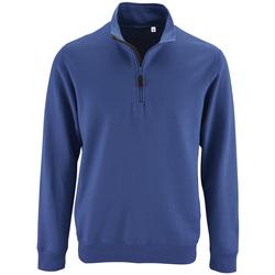 Textil Muži Mikiny Sols STAN CASUAL MEN Azul