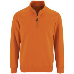 Textil Muži Mikiny Sols STAN CASUAL MEN Naranja