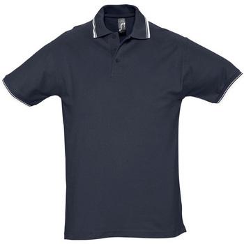 Textil Muži Polo s krátkými rukávy Sols PRACTICE GOLF SPORT Azul