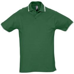 Textil Muži Polo s krátkými rukávy Sols PRACTICE GOLF SPORT Verde