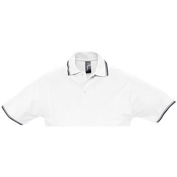 Textil Muži Polo s krátkými rukávy Sols PRACTICE GOLF SPORT Blanco