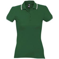 Textil Ženy Polo s krátkými rukávy Sols PRACTICE GOLF SPORT Verde