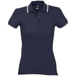 Textil Ženy Polo s krátkými rukávy Sols PRACTICE GOLF SPORT Azul