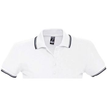 Textil Ženy Polo s krátkými rukávy Sols PRACTICE GOLF SPORT Blanco