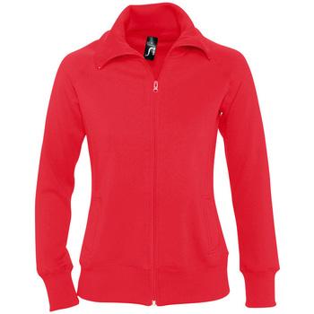 Textil Ženy Mikiny Sols SODA WOMEN SPORT Rojo