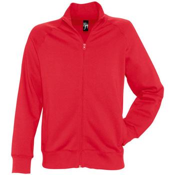 Textil Muži Mikiny Sols SUNDAE MEN SPORT Rojo