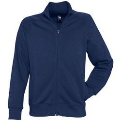 Textil Muži Mikiny Sols SUNDAE MEN SPORT Azul