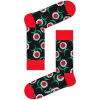 Textilní doplňky Muži Ponožky Happy Socks Sunflower sock Vícebarevné