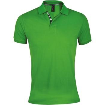 Textil Muži Polo s krátkými rukávy Sols PATRIOT FASHION MEN Verde