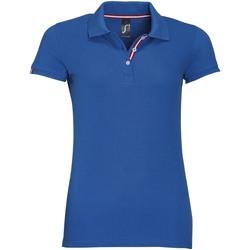 Textil Ženy Polo s krátkými rukávy Sols PATRIOT FASHION WOMEN Azul