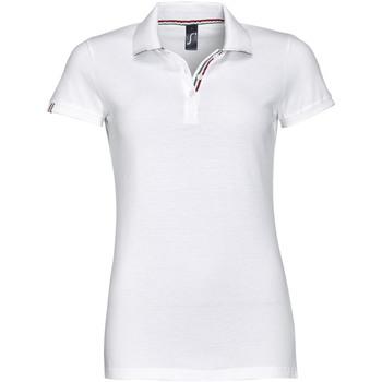Textil Ženy Polo s krátkými rukávy Sols PATRIOT FASHION WOMEN Blanco
