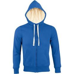 Textil Muži Mikiny Sols SHERPA WINTER MEN Azul